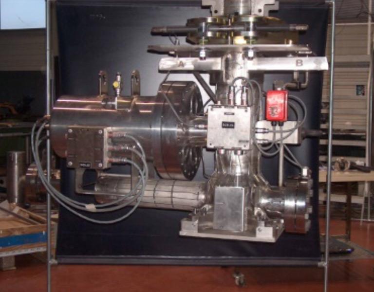 Star post 2006 – Unité de perçage de conteneurs de combustibles usés
