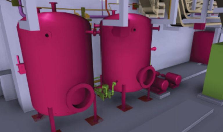 Réservoirs et bouteilles ITER