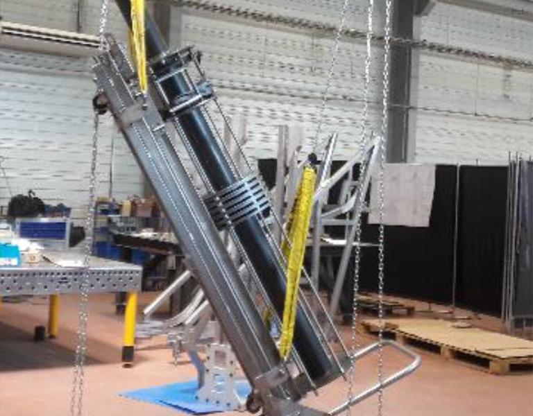 Équipement de montage et de maintenance (EMM) pour l'installation du diagnostic plasma n°14